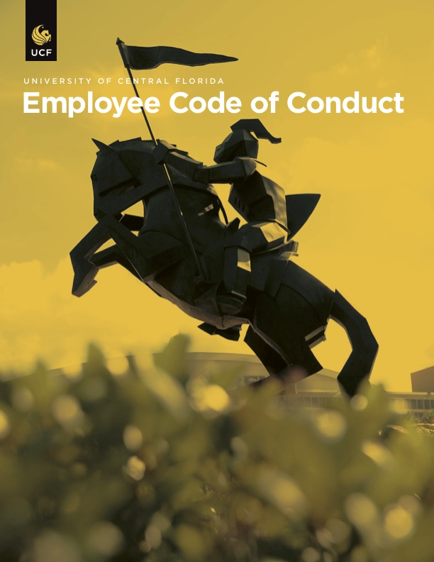 <p>View UCF Employee<br />Code of Conduct</p>